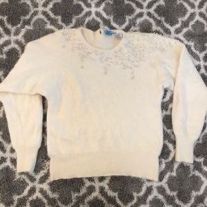 Vintage Nordstrom angora sweater